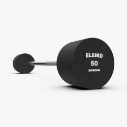 Eleiko uretaninės fiksuotos, tiesios štangos - 10 kg - 50 kg