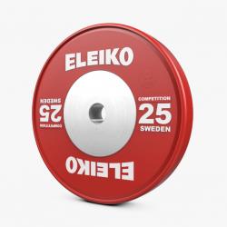 Eleiko IWF varžybiniai, sunkiosios atletikos svoriai - 10 kg / 15 kg / 20 kg / 25 kg