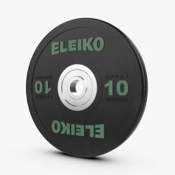 Eleiko Sport Training sunkiosios atletikos juodi treniruočių svoriai - 10 kg / 15 kg / 20 kg / 25 kg