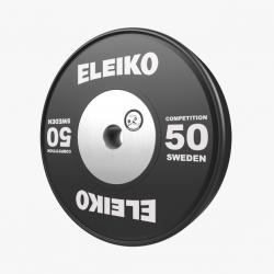 Eleiko WPPO jėgos trikovės varžybiniai, parolimpiniai svoriai - 10 kg / 15 kg / 20 kg / 25 kg / 50 kg
