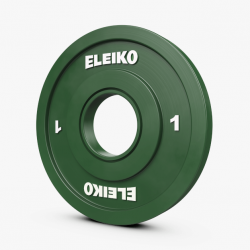Eleiko IWF varžybiniai, sunkiosios atletikos frikciniai svoriai - 0,5 kg / 1 kg / 1,5 kg / 2 kg