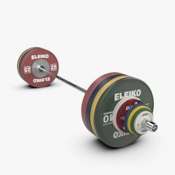 Eleiko IWF sunkiosios atletikos varžybinis štangos komplektas vyrams - 190 kg