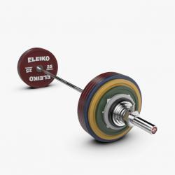 Eleiko IPF varžybinis jėgos trikovės štangos komplektas - 285 kg