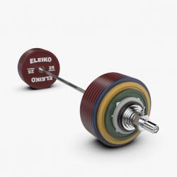 Eleiko jėgos trikovės treniruočių štangos komplektas - 435 kg