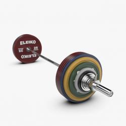 Eleiko jėgos trikovės treniruočių štangos komplektas - 285 kg