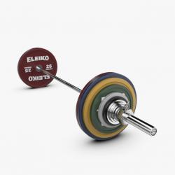 Eleiko jėgos trikovės treniruočių štangos komplektas - 185 kg