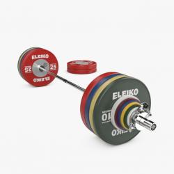 Eleiko WPPO jėgos trikovės parolimpinis varžybinis štangos komplektas vyrams - 240,5 kg