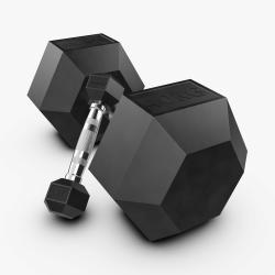 Eleiko XF šešiakampiai hanteliai - 1 kg - 40 kg