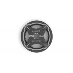 Evolve TPU uretaniniai svoriai - 1,25 kg / 2,5 kg / 5 kg / 10 kg / 15 kg / 20 kg / 25 kg
