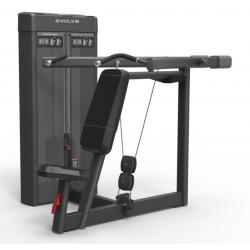Evolve pečių spaudimo (SHOULDER PRESS) selektorizuotas jėgos treniruoklis