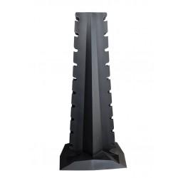 Crossmaxx LMX94 vertikalus 10 porų hantelių stovas