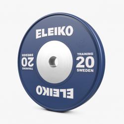 NAUDOTI Eleiko IWF sunkiosios atletikos treniruočių svoriai - 10 kg / 15 kg / 20 kg / 25 kg