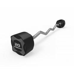 Mighty fiksuoto svorio, lenktų štangų rinkinys, 10 kg - 45 kg