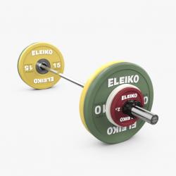 Eleiko XF trumpos štangos komplektas - 80,4 kg