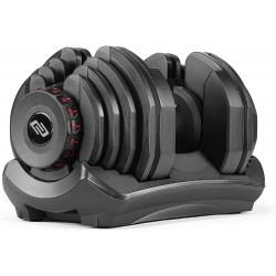 Evolve Econ serijos reguliuojamo svorio hantelis - 2.5-24 kg / 5-40 kg
