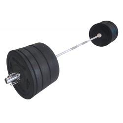 Evolve XF štangos komplektas - 120 kg