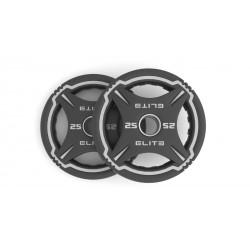 Elite TPU uretaniniai svoriai - 2 x 1,25 kg