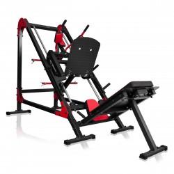 Marbo Sport MS-U106 kojų spaudimo (Leg Press) / pritūpimų (Hack Squat) treniruoklis