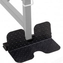 Marbo Sport MS-A004 kojų atrama, tvirtinama prie vertikalaus / horizontalaus traukimo treniruoklių