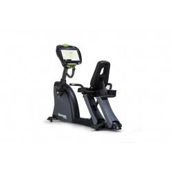 Sports Art Performance C545R dviratis treniruoklis su nugaros atrama ir 16 colių lietimui jautria konsole